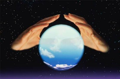 The future in a crystal ball