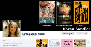 FB Author Page Screenshot